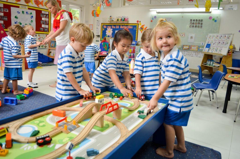 澳洲幼稚園的小朋友的一天