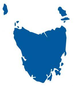 塔斯馬尼亞地圖