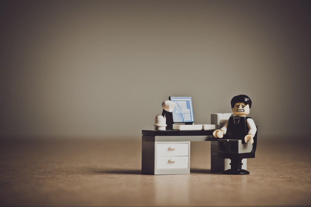 lego business man desk man